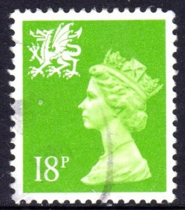 GREAT BRITAIN WALES 1991 18P