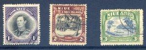 Niue SG75/77 Fine Used