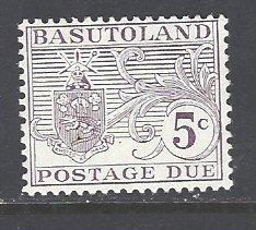 Basutoland Sc # J10 mint hinged (DT)