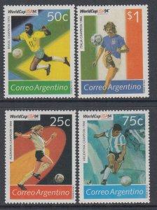 Argentina 1810-1813 Soccer MNH VF
