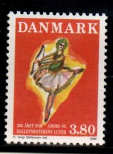 Denmark Sc 828 1986 Cupid stamp mint NH