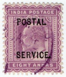 (I.B) India Revenue : Postal Service 8a