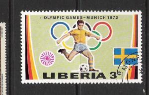 LIBERIA 591 VFU OLYMPIADS N555