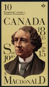 Canada 2804a Booklet MNH Sir John A MacDonald