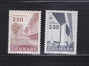Denmark 738-739 Set MNH Europa (B)
