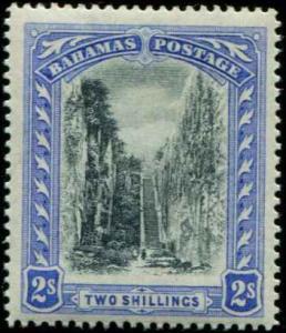 Bahamas SC# 81 SG# 113 Queen's Staircase wmk 4 2shillings MH