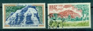 Ivory Coast #C41-C42  Used  Scott $7.50