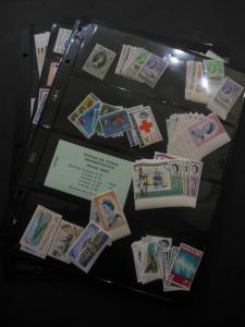 TRISTAN : Beautiful all VFMNH collection. Mostly Cplt between 1960-1992 Cat $740