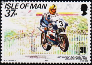 Isle of Man. 1991 37p S.G.482 Fine Used