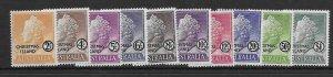 Christmas Island 1-10  1958  set 10  VF