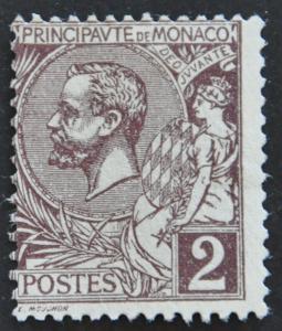 DYNAMITE Stamps: Monaco Scott #12 – UNUSED