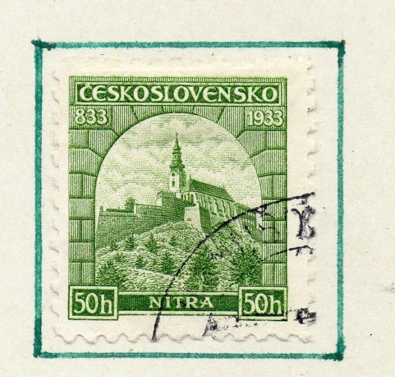 Czechoslovakia 1930s Early Issue Fine Used 50h. 230242