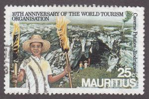 Mauritius 617 Centenary of World Tourism 1984