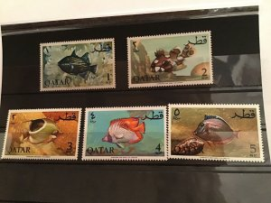 Qatar Fish stamps R21636