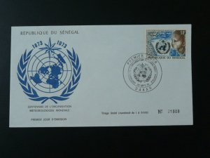 centenary of world meteorology organization FDC Senegal 74448