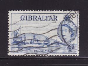 Gibraltar 138 U Ship, Coaling Wharf, Queen Elizabeth II (D)