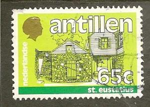Netherlands Antilles  Scott  516   St. Eustatius   Used