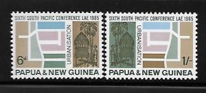 Papua New Guinea 1965 South Pacific Conference Housing Urbaniszation MNH A702
