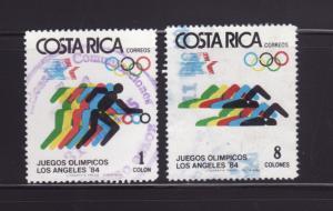 Costa Rica 304-305 U Sports, Olympics