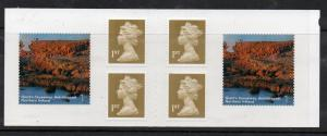 Great Britain Sc 2199a 2004 Northern Ireland Machin stamp booklet mint NH
