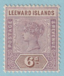 LEEWARD ISLANDS 5 MINT HINGED OG *  NO FAULTS EXTRA FINE