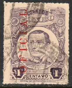 MEXICO O124, 1cent. USED. (21)