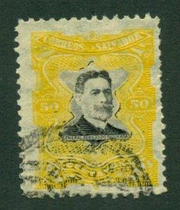 El Salvador 1910 #389 U SCV (2020) = $0.25