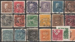 #116,167-70,175,184-5,187,145,147-8,152,282-3,154,158,285,153 Sweden Used Coils