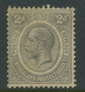 STAMP STATION PERTH Nyasaland #14 KGV Definitive MNG 1913-19