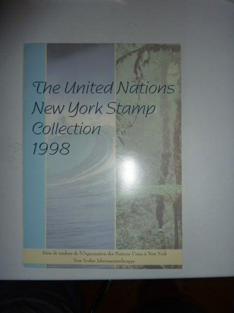 1998 United Nations New York Stamps collection