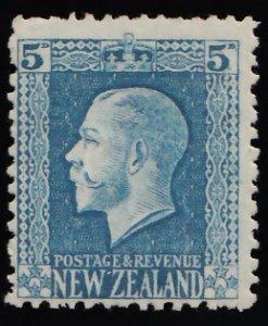 New Zealand Scott 153 Unused hinged.