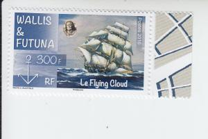 2016 Wallis & Futuna Flying Cloud (Scott 771) MNH