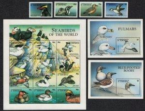 Dominica Sea Birds 16v+MS Sheetlet SG#2471-MS2487