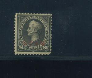 Guam Scott #13 Overprint Mint Stamp w/PF Cert (Stock Guam #13-PF2)