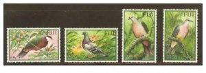 Fiji 2001 birds set of 4v MNH