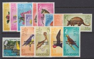 Grenada, Scott 528-541, MNH