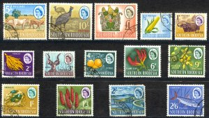 Southern Rhodesia Sc# 95-108 Used 1964 Definitives
