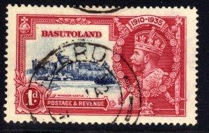 Basutoland 1935 KGV 1d Silver Jubilee Used SG 11 ( B467 )