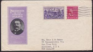 USA 1939 cover Dearborn to New Zealand......................................4887