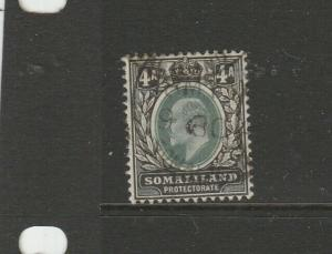 Somaliland 1904 Crown CA 4As Used SG 37