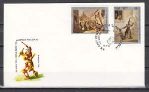 Cuba, Scott cat. 2540-2541. Folklore issue. First day cover. ^