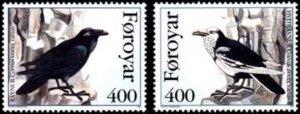 Faroe Islands #287-288 Fa283-284 MNH CV$2.80