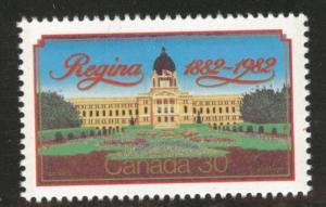 Canada Scott 967 MNH** Regina Centenary stamp