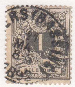 Belgium, Sc. # 28 (2), Used, Coat Of Arms, 1869