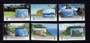 Pitcairn Is 697-702 MNH 2010 Childrens Art