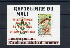 1981 Scout Mali 28th World Conference SS BadenPowell