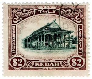 (I.B) Malaya States Revenue : Kedah Duty $2