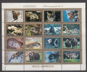 Ajman, Sc # Unk, CTO-NH, World Animals