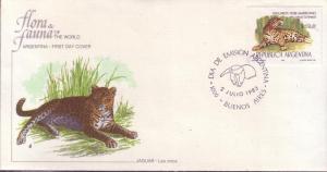 Argentina FDC SC# 1421 Jaguar L97