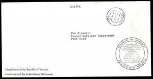 NEW HEBRIDES VANUATU 1992 Official cover Port Vila...................33598